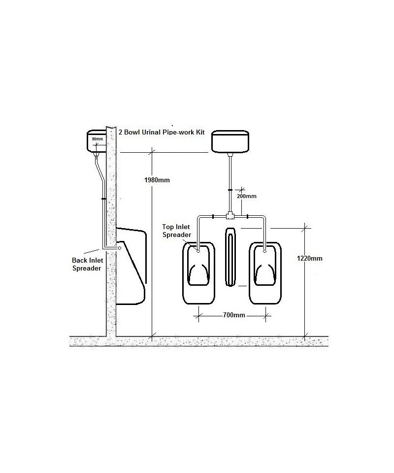 urinal pipes zjp plumbing rh zjpplumbing co uk Wall Hung Urinal Piping Diagrams urinal piping layout